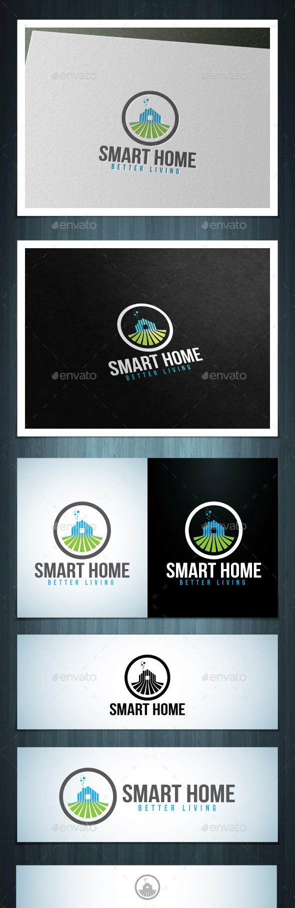 Smart Home - Vector Abstract