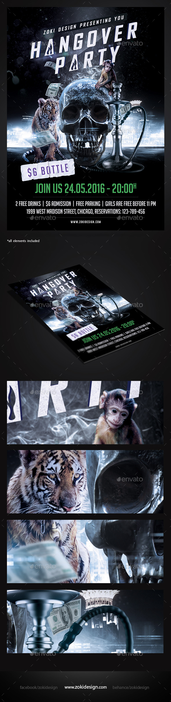 Hangover Party Flyer - Events Flyers
