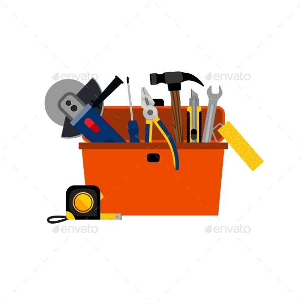 Toolbox for DIY House Repair - Services Commercial / Shopping