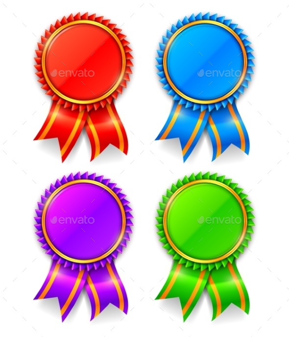 Award Medals - Sports/Activity Conceptual