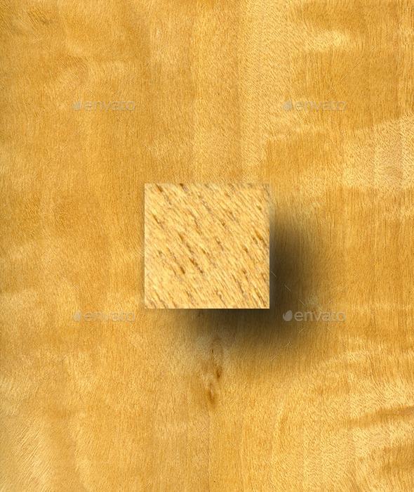 Figured Anigre Wood Texture - Wood Textures