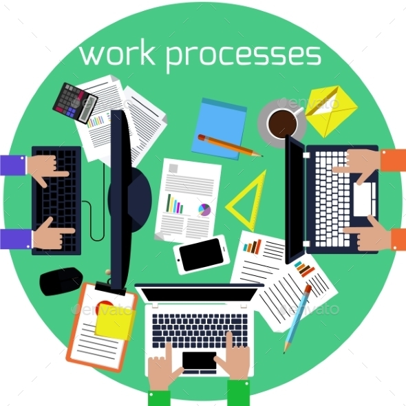 Working Process - Concepts Business