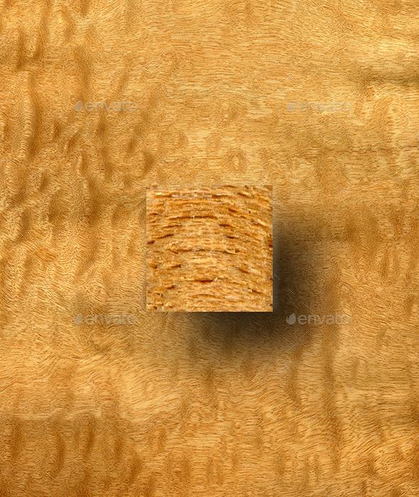 Pommele Sapele Wood Texture