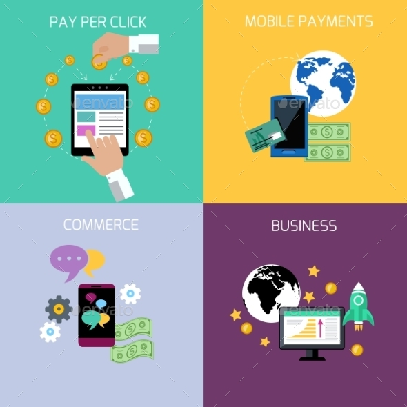 Internet Business And Payment Concept - Concepts Business