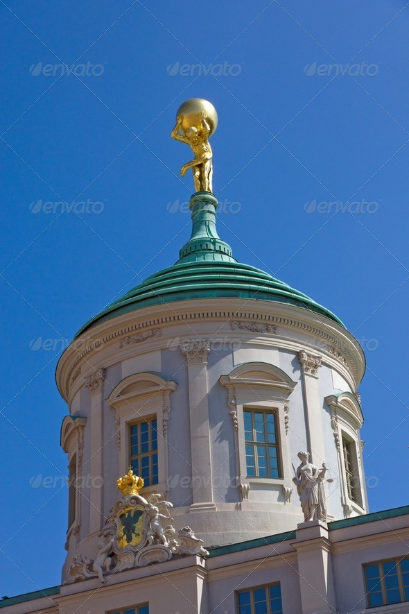 Old townhall in Potsdam - Stock Photo - Images