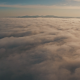 Epic Aerial above Clouds and Fog - VideoHive Item for Sale