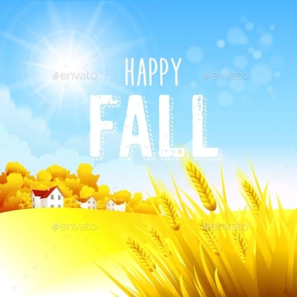 Autumn Rural Landscape - Landscapes Nature