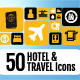 Hotel & Travel Icons Pack - GraphicRiver Item for Sale