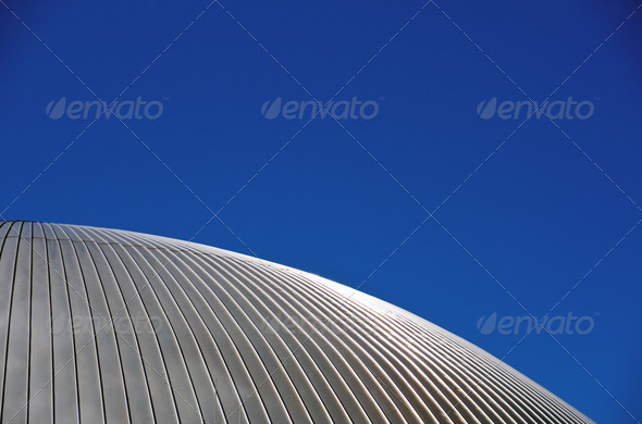 Silver roof - Stock Photo - Images