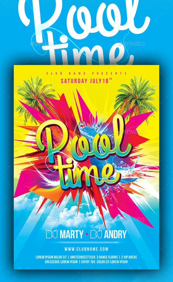 Pool Time - Clubs & Parties Events