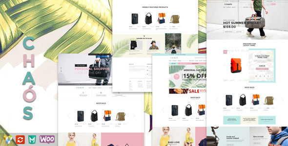 Chaos – Responsive Bag Shop Theme