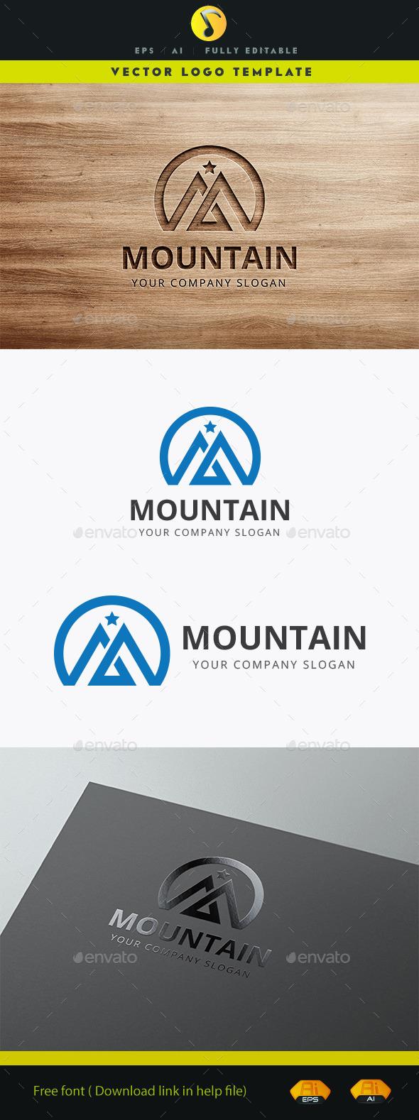 Mountain  - Nature Logo Templates