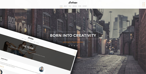 Calliope – Portfolio & Agency WordPress Theme