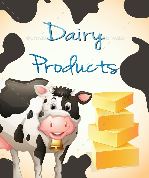 Dairy Product - Animals Characters