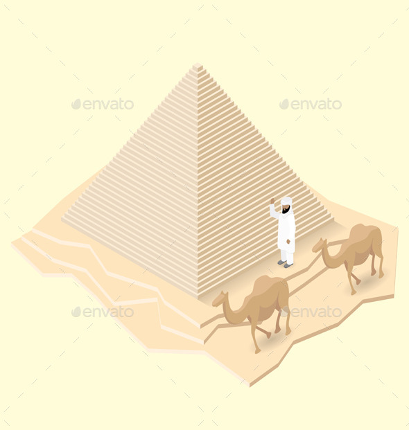 Isometric Monument - Man-made Objects Objects