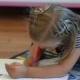 Little Girl Drawing With Pencils - VideoHive Item for Sale