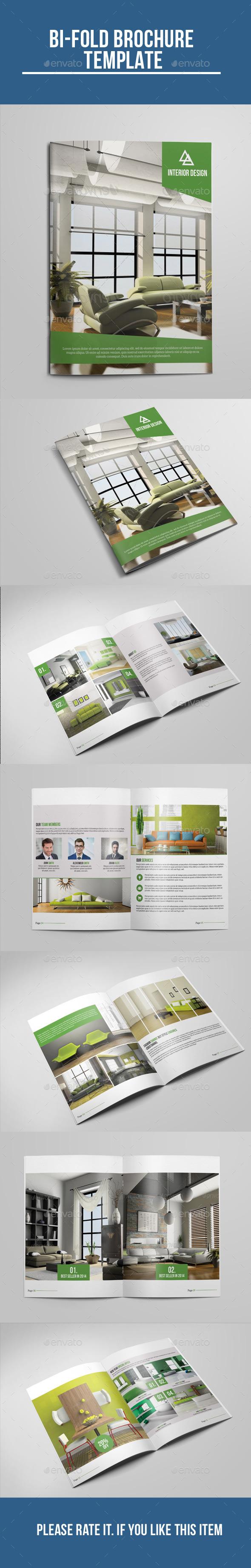 Interior Bi-Fold Brochure - Corporate Brochures