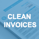Gstudio Clean Invoices Template - GraphicRiver Item for Sale