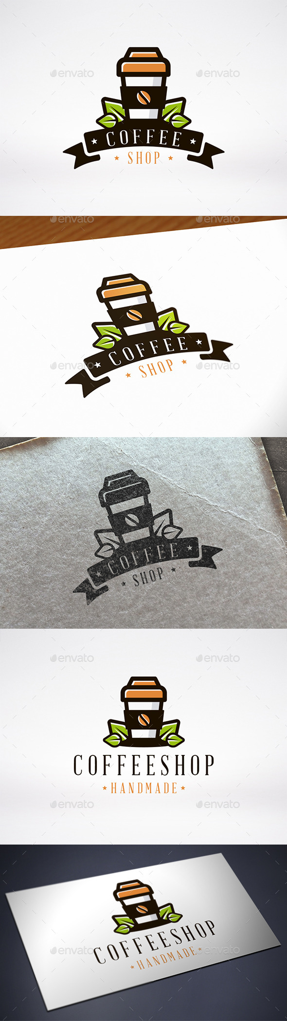 Coffee Shop Logo Template - Food Logo Templates