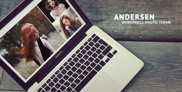 Andersen – Fullscreen WordPress Photography Theme