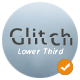 Simple Glitch Lower Third - VideoHive Item for Sale