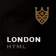London | Onepage-Singlepage Multi Purpose Template - ThemeForest Item for Sale