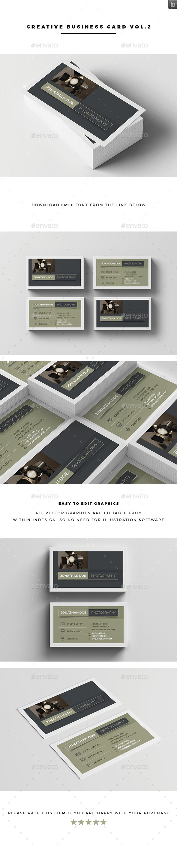 Creative Business Card Vol.3 - Creative Business Cards