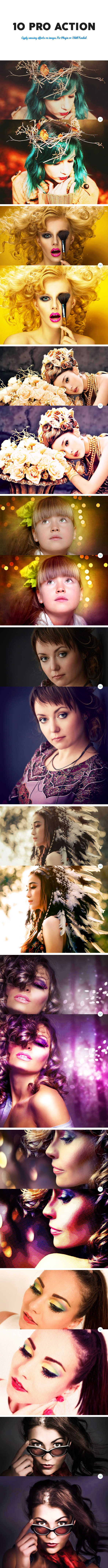 10 Pro Photoshop Action 2 - Photo Effects Actions