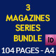 3 Series Magazines Bundle Template - 104 - GraphicRiver Item for Sale