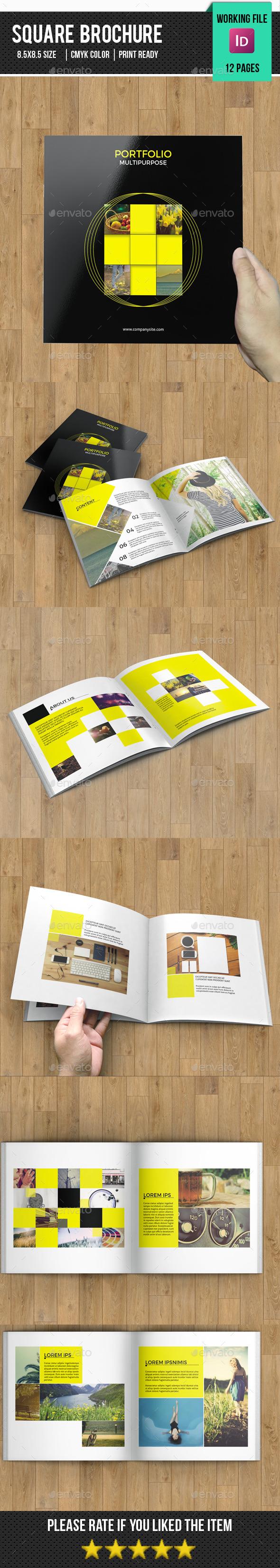 Square Brochure for Portfolio-V71 - Catalogs Brochures