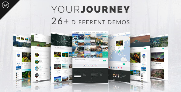 Your Journey – Travel Blog WordPress Theme