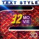 32 Cinematic Movie Text Style Bundle Selection - GraphicRiver Item for Sale