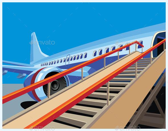 Civil Aircraft - Travel Conceptual
