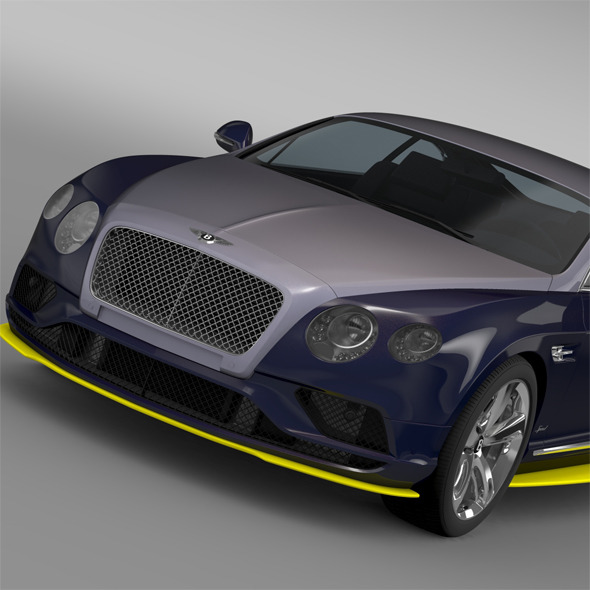 Bentley Continental GT Speed Breitling Jet Team  - 3DOcean Item for Sale