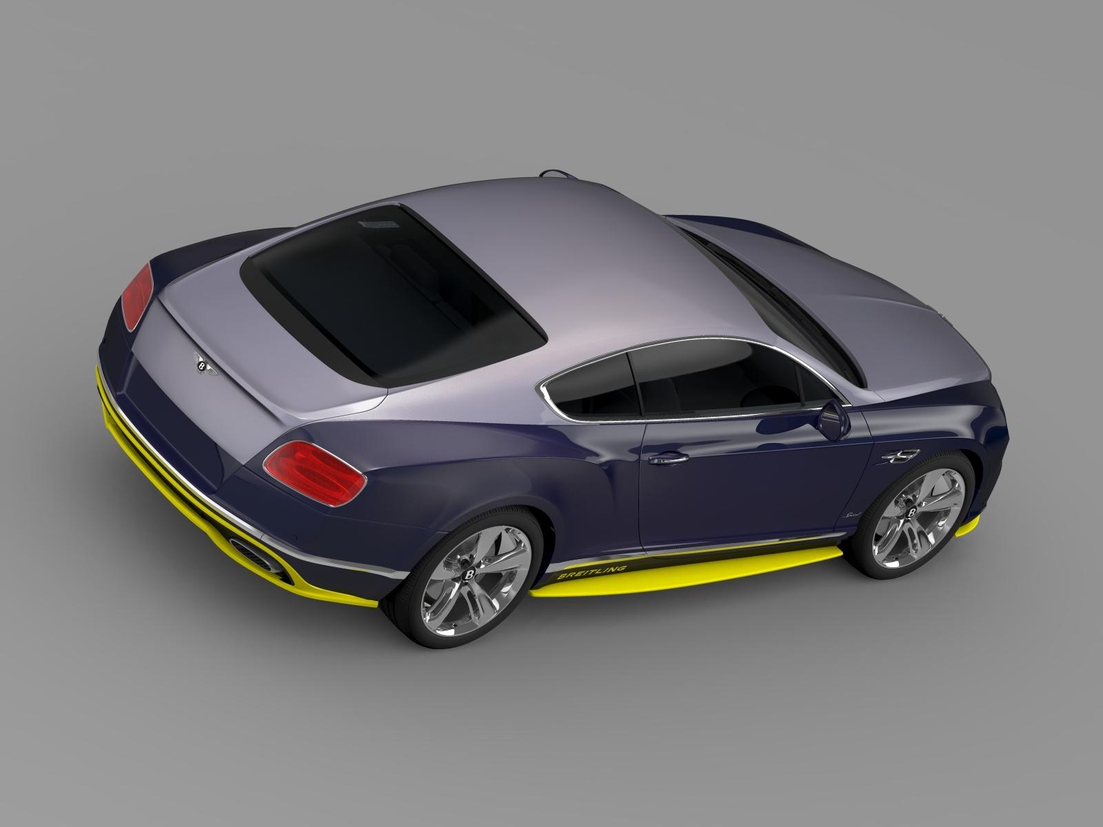Bentley Continental GT Speed Breitling Jet Team by creator_3d | 3DOcean