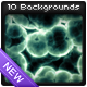 10 Cell Backgrounds Pack - GraphicRiver Item for Sale