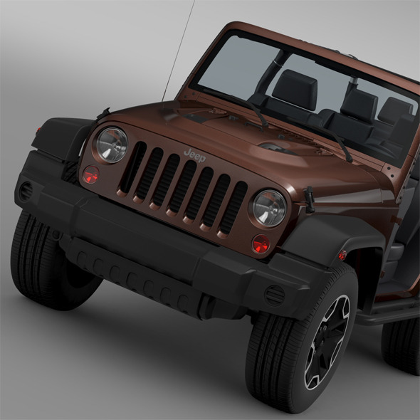 Jeep Wrangler Rubicon 6x6 2016 - 3DOcean Item for Sale