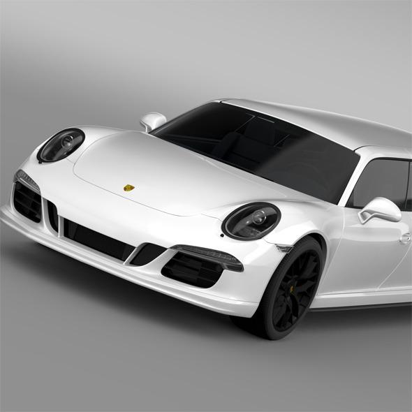 Porsche 911 Carrera 4 GTS Limousine 2016 - 3DOcean Item for Sale