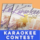 Karaokee Contest Party Flyer II - GraphicRiver Item for Sale
