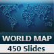 World Map PowerPoint Presentation Template - GraphicRiver Item for Sale