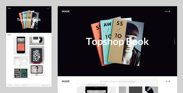 MADE: Freelance & Agency Portfolio Template - Portfolio Creative