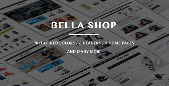 Bella Magento Theme