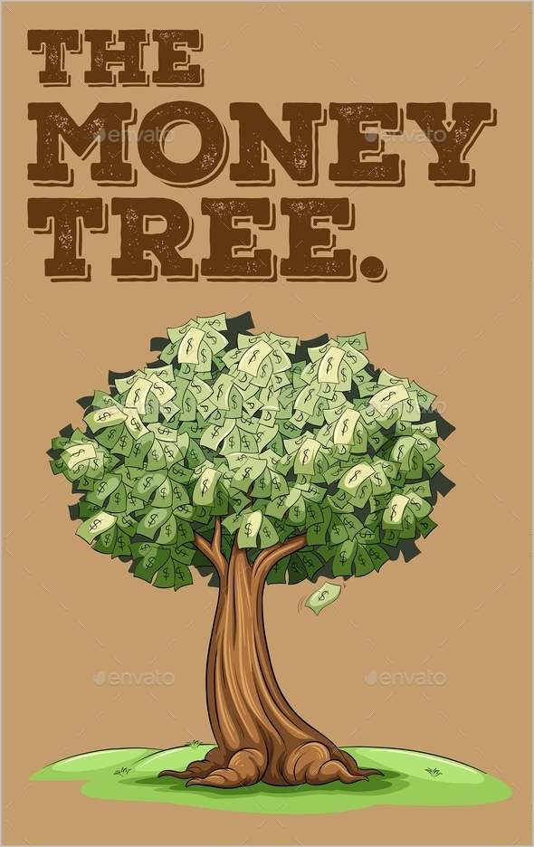 Money Growing on a Tree - Flowers & Plants Nature