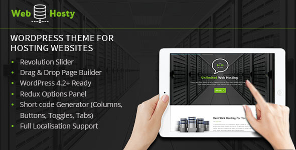WebHosty – Hosting WordPress Theme