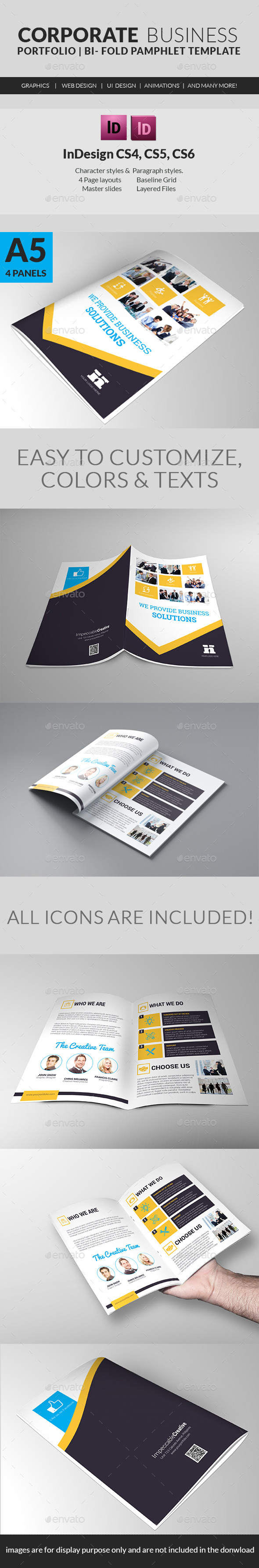 Corporate Business Solutions Pamphlet - Corporate Brochures