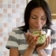 Housewife In Kitchen With Salad - VideoHive Item for Sale