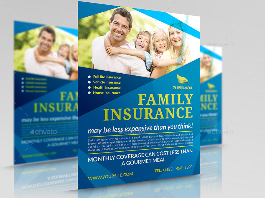 Life Insurance Flyer Templates Arts Arts - Insurance brochure template