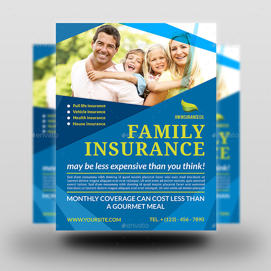 Life Insurance Flyer Antaexpocoachingco - Insurance brochure template