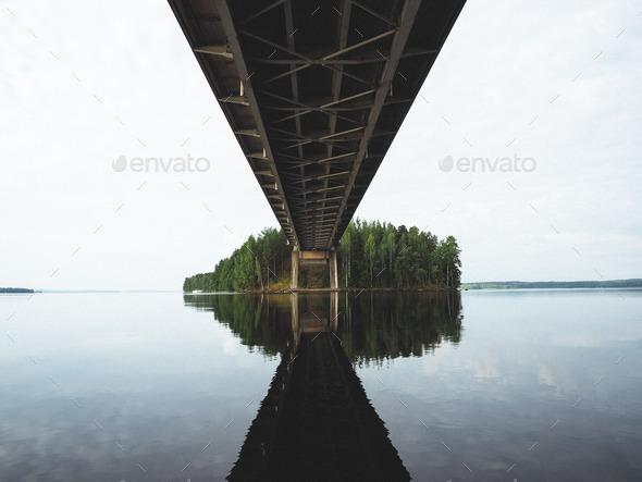 The bridge to beautiful. - Stock Photo - Images