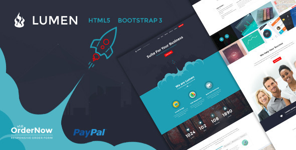 Lumen – Multi-Purpose Bootstrap Template